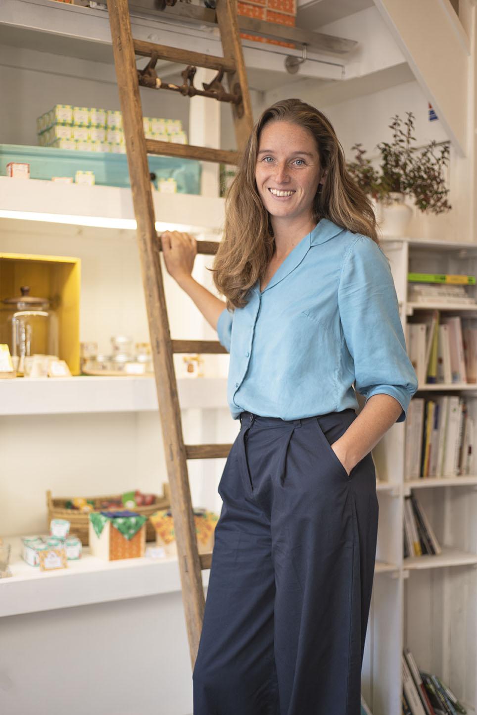 Portrait de l'entrepreneuse Laëtitia Van de Walle, @Lamazuna