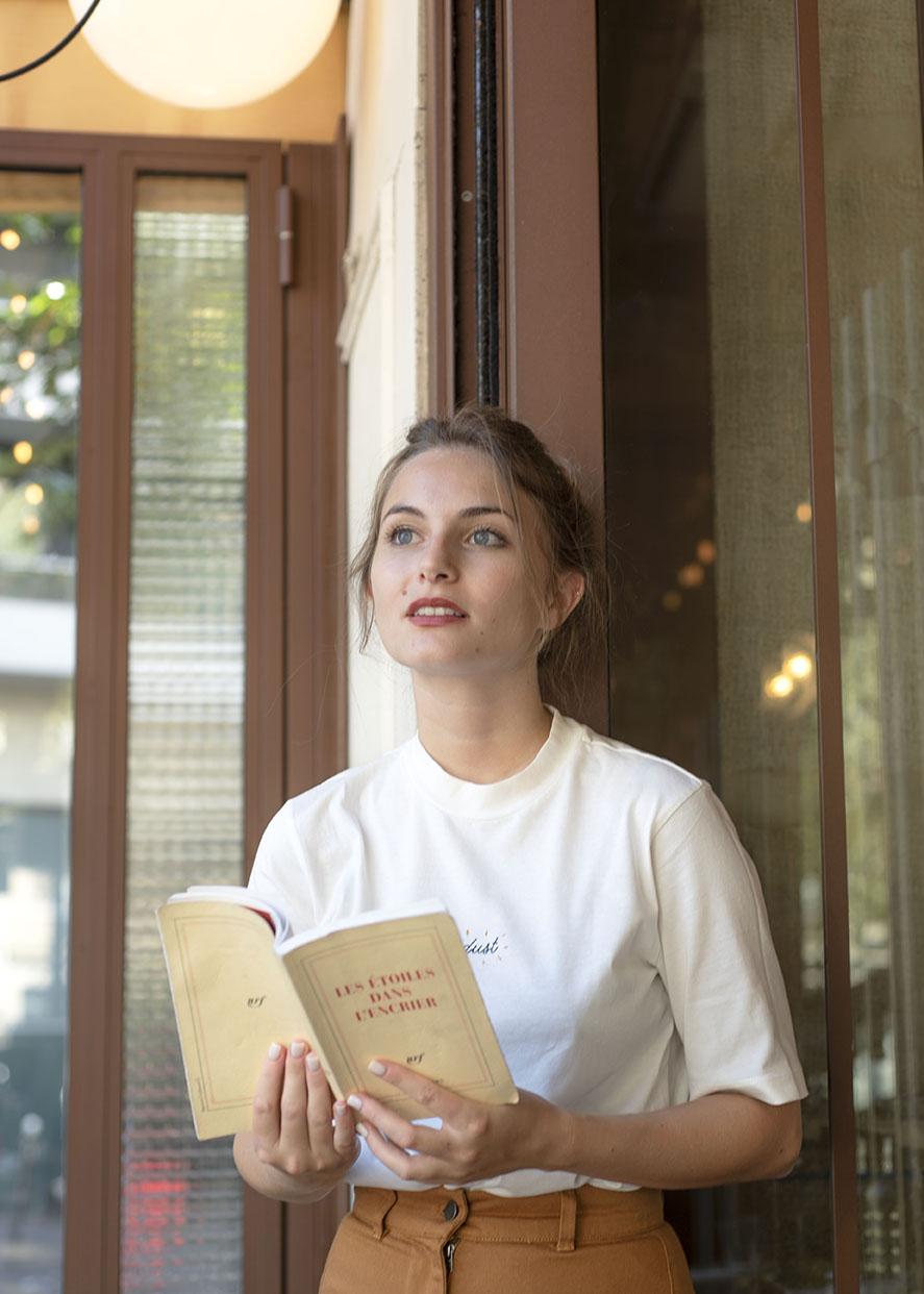 Portrait de l'influenceuse Margot, @margotannacolette