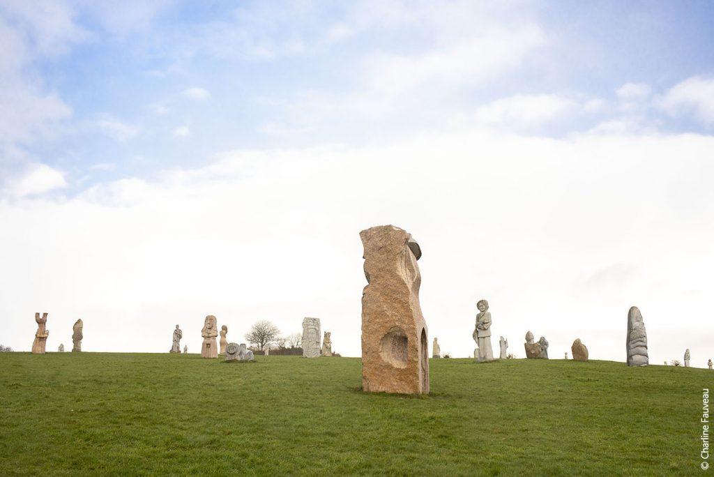 Menhirs modernes de la Vallée des Saints